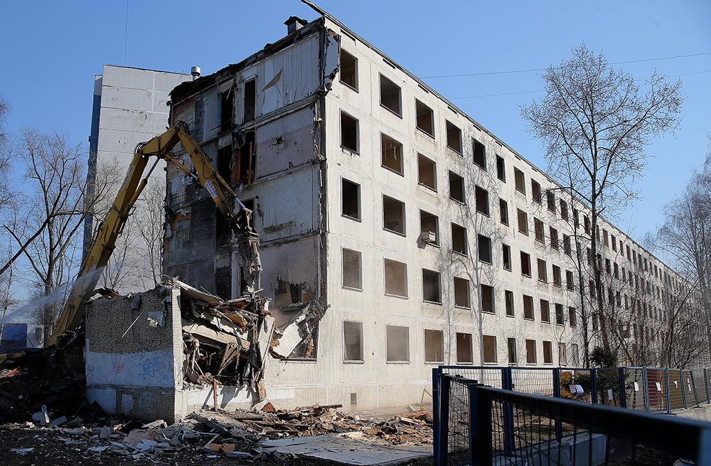 новости о сносе пятиэтажек в северном тушино ряд: