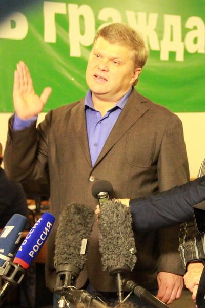 Сергей Митрохин подвел итоги дня голосования