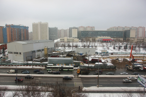 В Тропарево-Никулино строят метро на дизеле