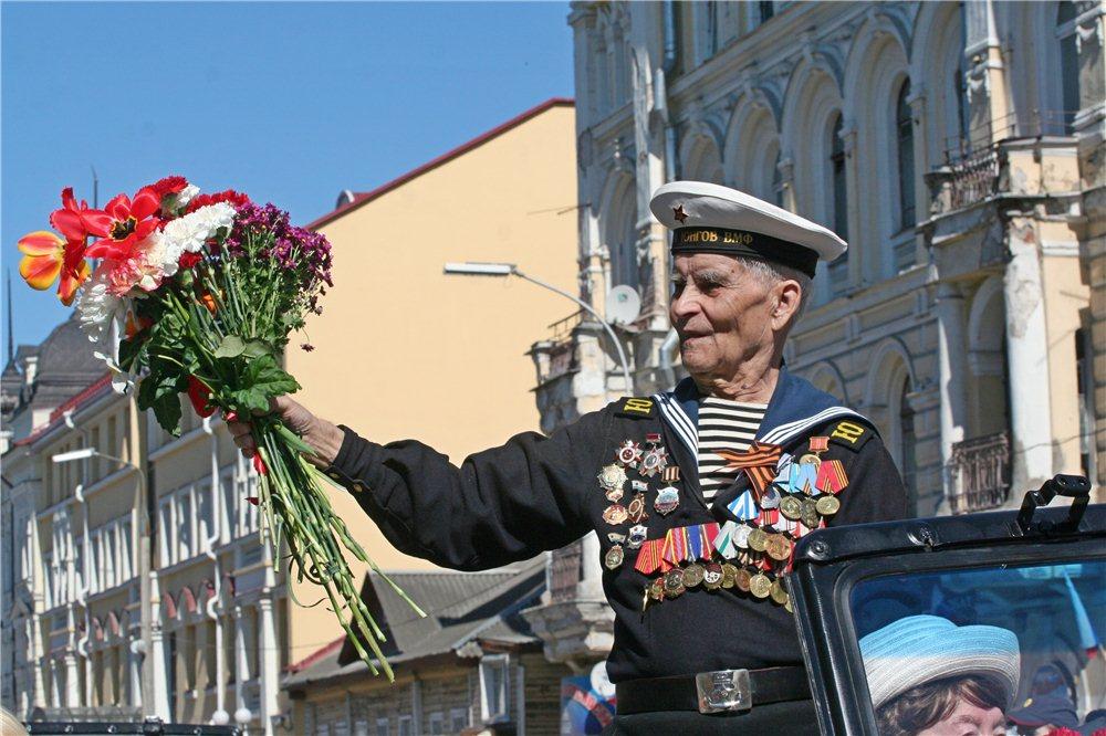 Открытки парад ветеранов